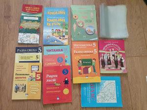 Knjige za 5 razred u odličnom stanju