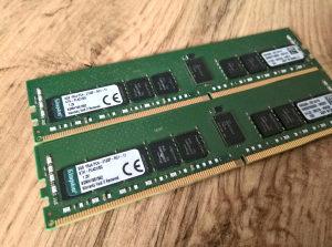 Ram 8 GB DDR4 za server