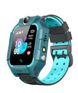 Pametni sat za decu Q19, LBS + GPS, SOS taster, Geo Fance, Pozivi, SMS, plava