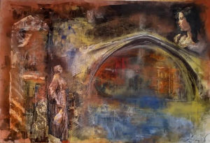 Umjetnička slika koja visi pored Berbera u BKC(prodaja)