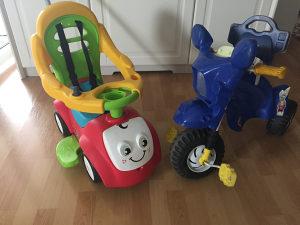 Autic i bicikl za djecu