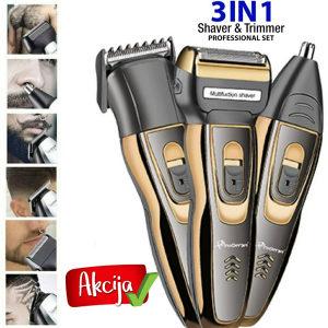 Masinica za sisanje,brijanje,trimer za usi i nos 3u1