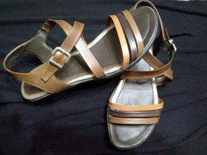 ECCO Ženska kožna sandala..Veličina 40..Kao nove!