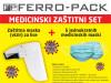 Medicinski zaštitni set - vizir + maskice