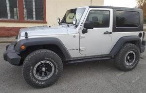 4x4 Jeep wrangler JK 2012