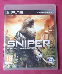 Originalna korištena Sniper GW igrica PS3
