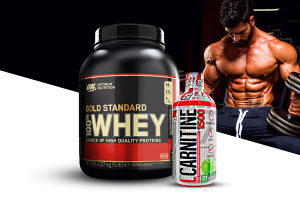 Ripped-Man Paket ON Gold Standard 100% Whey Protein