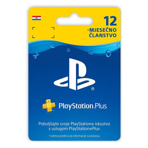 PlayStation PS Plus PSN 365 Days / 12 mjesečno članstvo