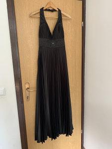 Svečana crna haljina veličina 38