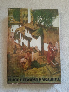Ulice i trgovi Sarajeva - Alija Bejtic, rijetke knjige