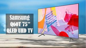 """Samsung 75Q60T 75"""" QLED Q60T 4K TV QE75Q60TAUXXH Smart"""
