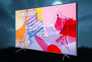 """Samsung 43Q60T 43"""" QLED Q60T 4K TV QE43Q60TAUXXH Smart"""