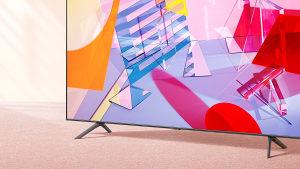 """Samsung 65Q65T 65"""" QLED Q65T 4K TV QE65Q65TAUXXH Smart"""