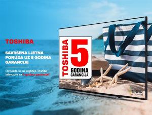 Akcija >>> TOSHIBA TV GARANCIJA 5 GODINA Televizor