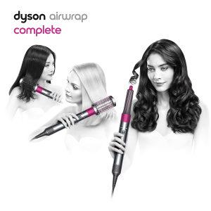 Uvijač za kosu Dyson Airwrap Complete Nickel/Fuchsia