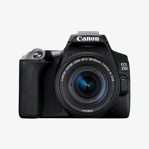 Fotoaparat CANON EOS250D1855 BK