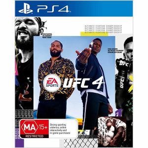 UFC 4 PS4 Playstation 4 REZERVACIJE