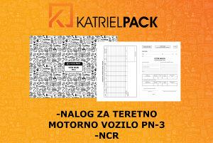 Putni nalog za teretno motorno vozilo PN-3, NCR