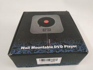 Zidni HDMI CD DVD player, bluetooth zvučnik, daljinski