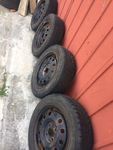 Felge Fiat s gumama 165 70 14
