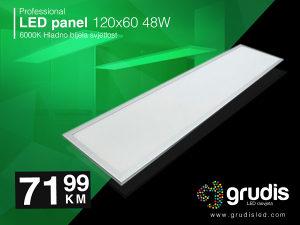 LED panel 120x30 48W 4000K