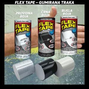 Flex tape gumirana traka