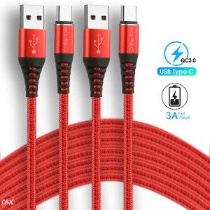 USB C kabal, 2 metra, brzo punjenje i prijenos podataka