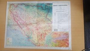 Karta bosne i hercegovine