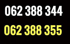 Ultra broj / dva broja / 062 388 344, 388 355
