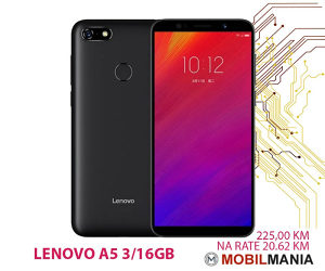 LENOVO A5 3GB/16GB