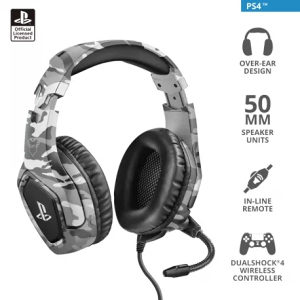 Trust GXT 488 Forze PS4 Playstation Gaming Headset
