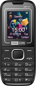Mobitel na tipke Maxcom classic MM135 Black/blue