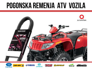 REMEN ATV/UTV QUAD CAN-AM, POLARIS, CF MOTO, ARTIC-CAT