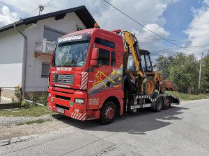 Usluge prevoza kamionom sa dizalicom(slep,vucna sluzba)