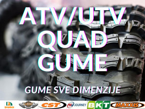 GUME ATV/ UTV QUAD VOZILA (DURO, JOURNEY, BKT)
