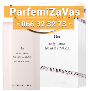 Burberry Her 200ml Body Losion Ž 200 ml