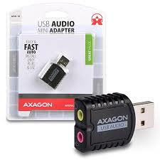 AXAGON ADA-10 USB - Mini audio
