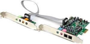 STARTECH 7.1 channel sound card - PCI 24-bit 192KHz