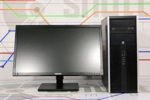 "KOMPLET - HP 8300 i5 3Gen - 24"" LED FULL HD MONITOR"