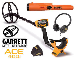 Detektor metala Garrett ACE 400i Pinpointer AT PRO