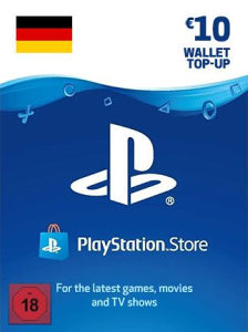 PS4 PS WALLET PSN STORE Gift Card Key 5 10 15 20 50 EUR