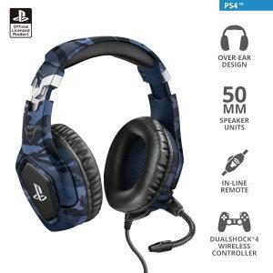 TRUST Gaming Headset GXT 488 PS4 Playstation 4 Slusalic