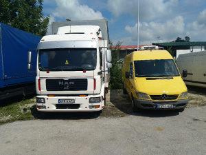 Kombi i kamion prevoz SARAJEVO.Virman .Račun
