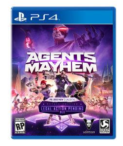 Agents Mayhem (PlayStation 4 - PS4)