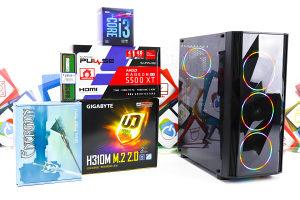 Gaming PC Prism 7; i3-9100F; RX 5500 XT; 240GB SSD; 8GB