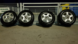 "Aluminijske felge i gume 17"" original Tuareg"