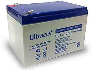 Baterija Ultracell 12V 12Ah