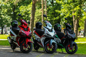 Skuter motocikl motor MONZA Sonic 50 ccm, 2T, 2021g