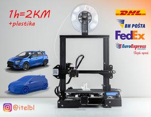 3D printanje 1h=2KM 3D stampanje, plastika, 3D printer