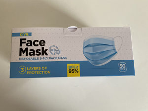 Maske zastitne - maska za lice Troslojna maska